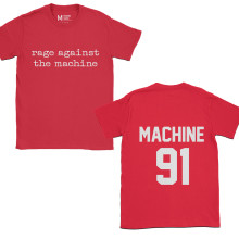 Rage Against The Machine 91 Red