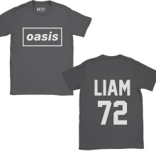 Oasis Liam Gallagher 72 Charcoal