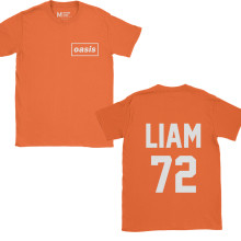 Oasis Liam Gallagher 72 Pocket Orange