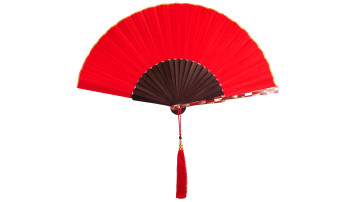 Sea SheII Fan Red image