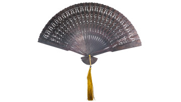 Traditional Ebony Fan M image