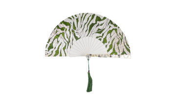 Sea Shell Fan Motive White Camouflage image