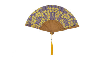 Motive Silk Fan Yellow Leaf image