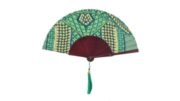 Motive Silk Fan Green image