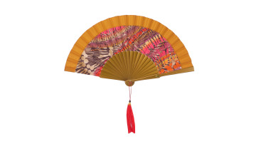 Motive Silk Twotone Fan Gold image
