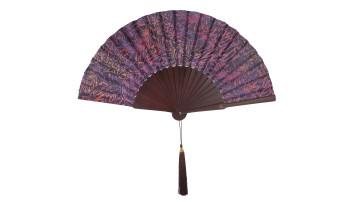 Motive Silk Fan Leaf Purple image