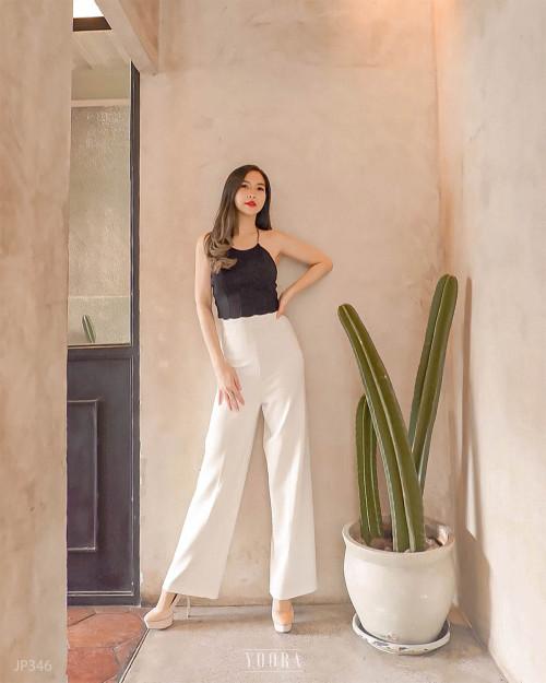 [MyYoora] PREMIUM Yoora HighWaist HW Culottes Pants Celana