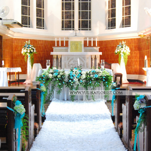 Wedding Decoration - Church Decor