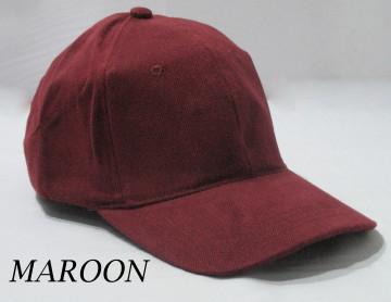 Baseball Cap Polos (Maroon) image