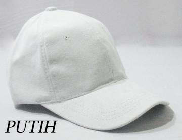 Baseball Cap Polos (Putih) image