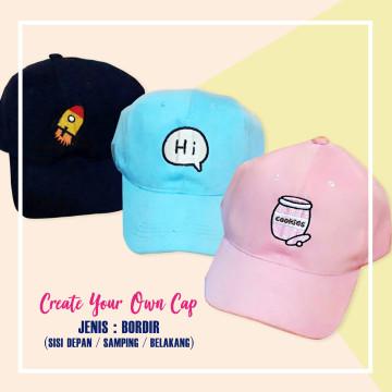 Custom Cap (Bordir) image